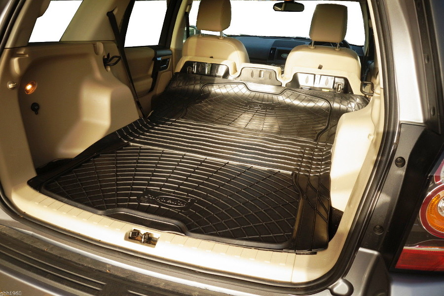 3pc Boot Liner Load Mat Bumper Protector Land Rover