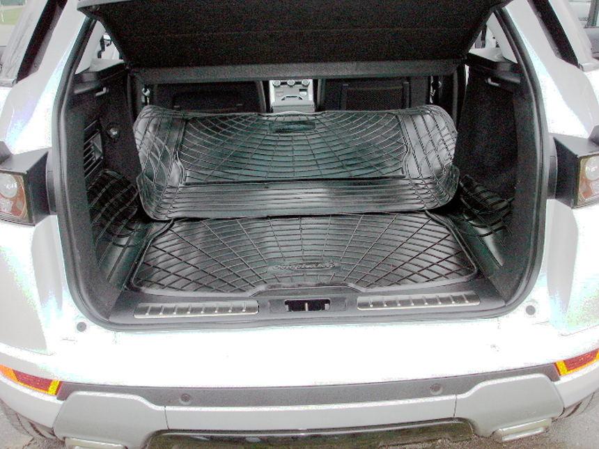 rubber boot liner load mat bumper protector range rover. Black Bedroom Furniture Sets. Home Design Ideas